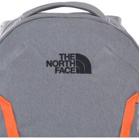 The North Face Vault Rugzak, zinc grey dark heather/persian orange